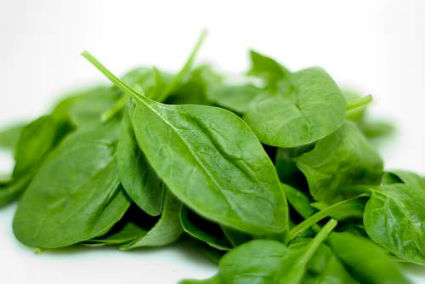 Spinach%20Leaves - Spinach with Spicy Peanut Sauce