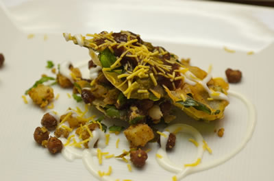 Spinach Chaat - Spinach Chaat