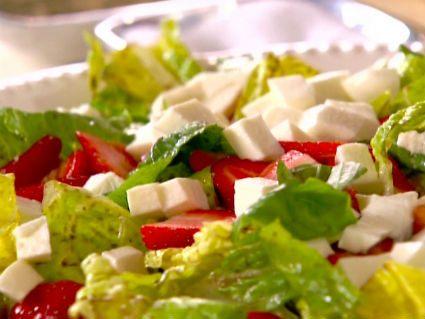Strawberry and Mozzarella Salad