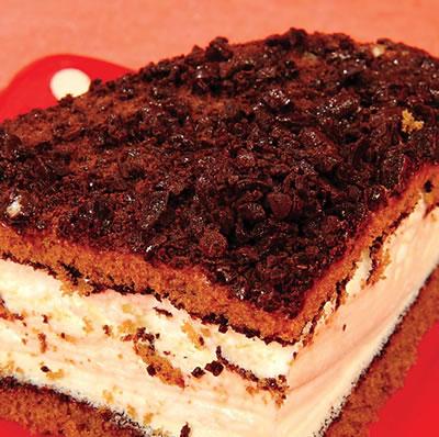 Triple Layered Chocolate Dessert