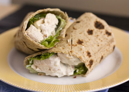 Waldorf%20Chicken%20Wrap - Waldorf Chicken Wrap