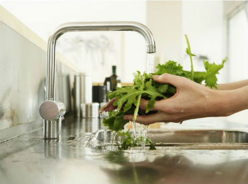Wash Fruits Vegetables - Stay Healthy This Monsoon