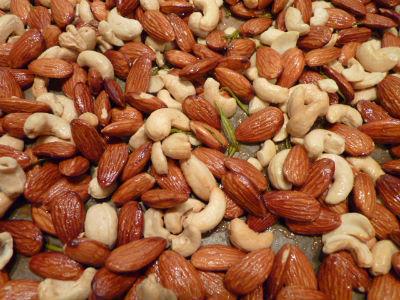 almonds cashews - Nuts Biryani