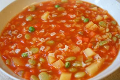 alphabet pasta - Alphabet Soup