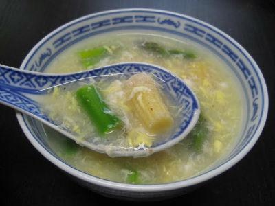 asparagus crabmeat soup - Creamy Asparagus and Crabmeat Soup