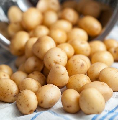 baby potatoes - Baby Potato Masala Roast