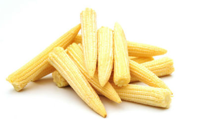 Baby Corn with Spinach
