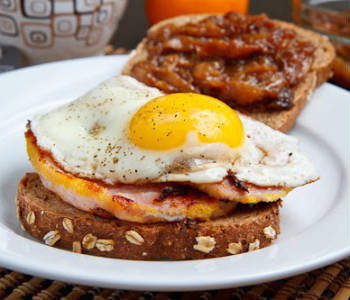 bacon egg sandwich - Bacon and Egg Sandwich