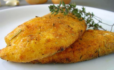 Baked Fish with Almonds
