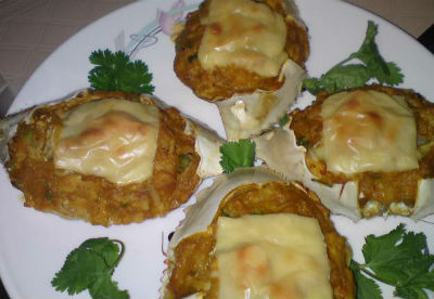 Baked Stuffed Crabs