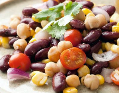 bean tomato corn salad - Bean, Tomato and Corn Salad