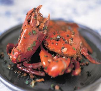 black pepper sauce crabs - Black Pepper Sauce Crabs