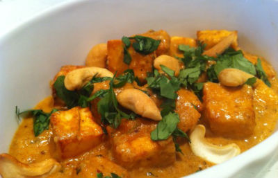 cashew paneer curry - Paneer Cashew Curry