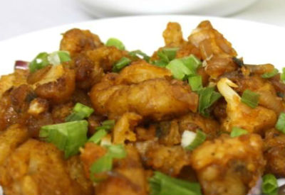 cauliflower manchurian - Cauliflower Manchurian