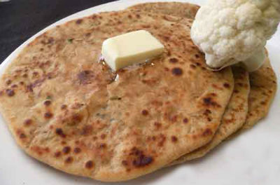 cauliflower paratha - Cauliflower Paratha