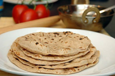 chapati roti - Mixed Greens Chapati