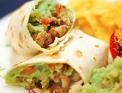 chicken burrito rolls - Chicken Burrito Rolls