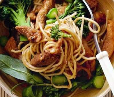 Thai Chicken and Lemongrass Stir-Fry