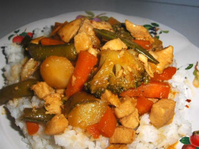 chicken pineapple stir fry - Chicken Pineapple Stir-Fry