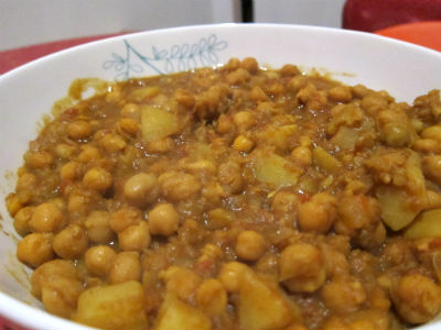 Chickpeas with Potatoes