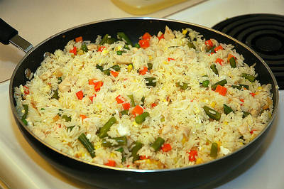 Christmas Fried Rice