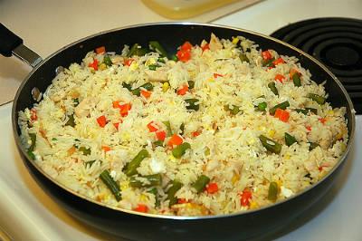 christmas fried rice - Christmas Fried Rice