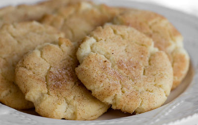 cinnamon sugar cookies - Cinnamon Sugar Cookies