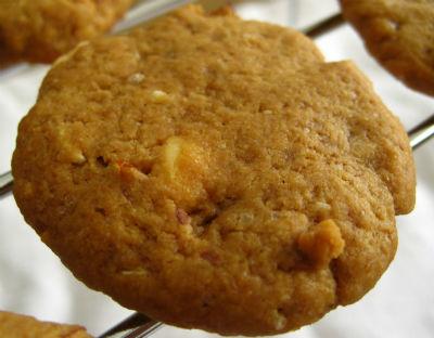 Coffee Almond Cookies