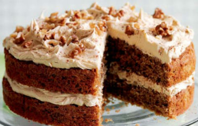 coffee walnut cake - Coffee Walnut Cake