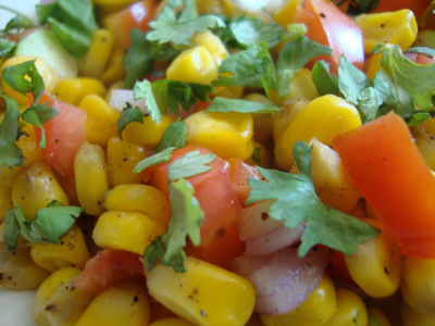 corn chaat - Corn Chaat