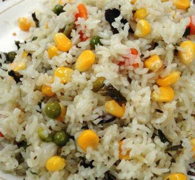 corn pulao - Corn Pulao