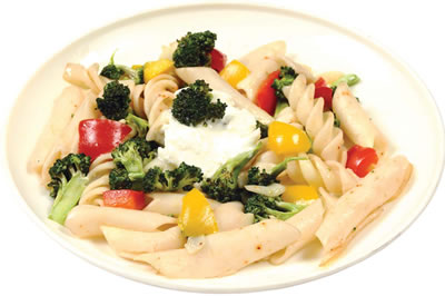 Creamed Broccoli and Pasta