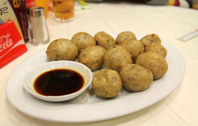 Crispy Fried Fish Balls