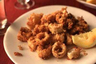 Crunchy Fried Squid