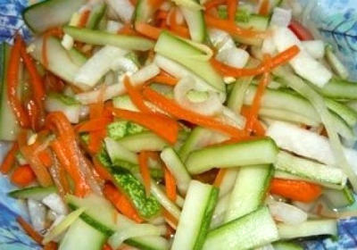 Cucumber and Carrot Pickle