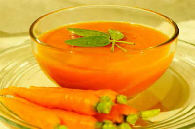 curried carrot soup - Curried Carrot Soup