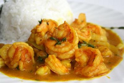 curried shrimp - Curried Shrimp