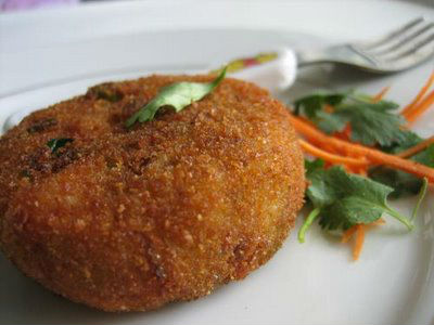 cutlet - Oats Aloo Cutlet