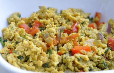 egg bhurji - Egg Capsicum Bhurji