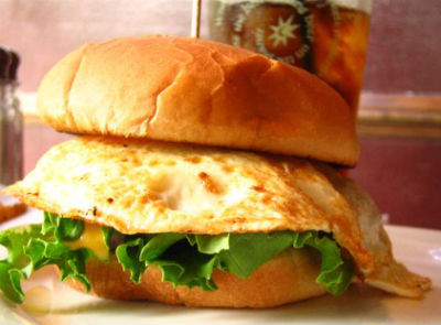 egg burger - Egg Burger