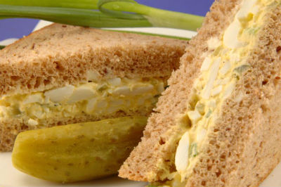 Egg and Paneer Sandwich