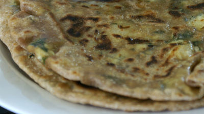 Egg Stuffed Chapati