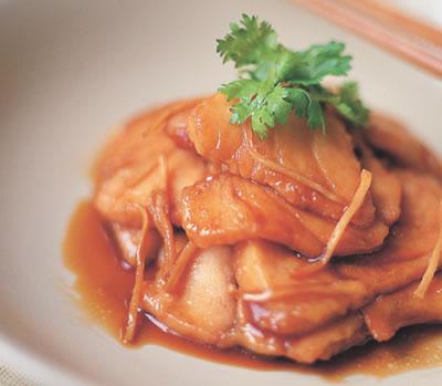 Fish in Caramel Sauce