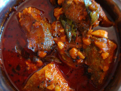 fish pickle - Dry Fish Pickle