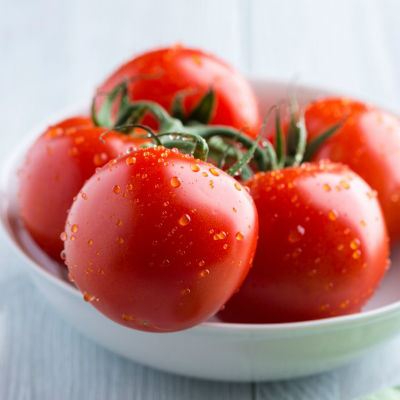 fresh red tomatoes - Tomato Ghee Rice