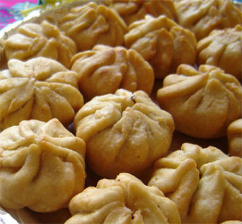 fried modak - Fried Modak