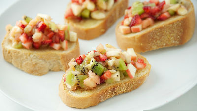 fruit bruschetta - Fruit Bruschetta
