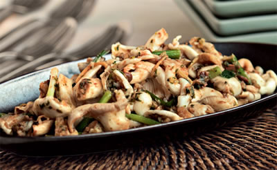 Garlic Soy Mushrooms