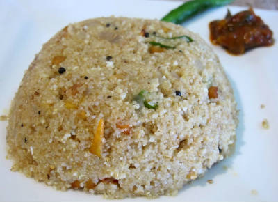 Godhuma Rava Vegetable Upma