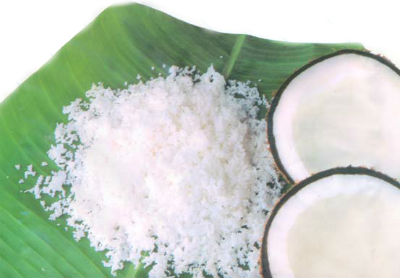 grated coconut - Coconut Sweet Rice